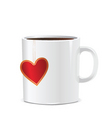 love mug vector image