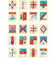 heraldic shields vector image