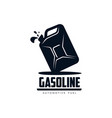 oil fuel canister flat icon pictogram vector image
