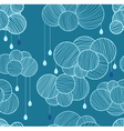 seamless clouds vector image