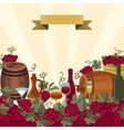 for wine wineries and restaurants vector image vector image