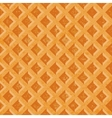 Seamless texture soft waffles The textured vector image