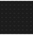 Black and gray background with diamonds Vector Image