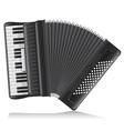 accordion 02 vector image