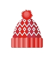 Winter Hat Isolated vector image