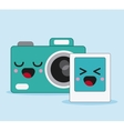 camera icon Kawaii and technology graphic vector image