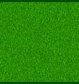 green grass textured background vector image