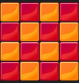 orange and red tiles texture seamless vector image