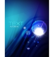 Futuristic abstract blurred flares and colors vector image vector image