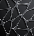 background of a mesh with triangular cells vector image