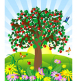 wild apple vector image