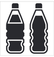 bottle icon vector image vector image