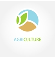 sign Organic farming Greengrocer vector image