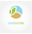 sign Organic farming Greengrocer vector image