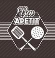 bon appetit image vector image