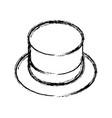 porcelain mug cup vector image