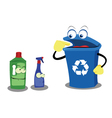 Recycling Plastic vector image