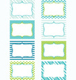 Printable Labels Set Tags Photo Frame Gift Tags vector image