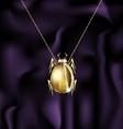jewel beetle vector image