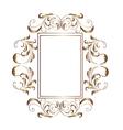 Victorian aluminum frame - vector image