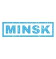 Minsk Rubber Stamp vector image
