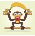 Monkey2 vector image vector image