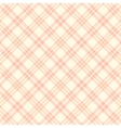 seamless pink plaid pattern endless vector image