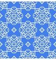 Arabic seamless pattern line art vector image