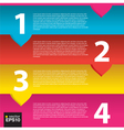 Colorful banner template EPS10 vector image