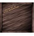Wooden box texture vector image