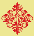 decorative-swirl-ornament vector image vector image