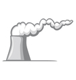 Nuclear power plant vector image vector image
