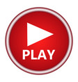 play button web icon vector image