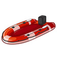 Lifeboat vector image vector image