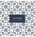 abstract pattern in arabian style vector image