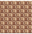 Geometrical pattern in brown vector image