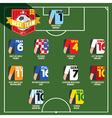 Best Team Soccer of Football vector image