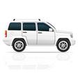 car jeep off road suv 01 vector image