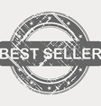 BEST SELLER grunge rubber stamp vector image