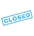 Closed Rubber Stamp vector image