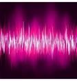 Abstract purple waveform EPS 8 vector image
