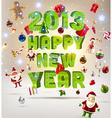 2013 Christmas Banner vector image