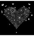Wedding heart vector image vector image