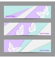 A set of banners vector image