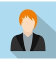 Woman avatar icon vector image