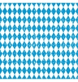 Oktoberfest Bavarian flag symbol background vector image
