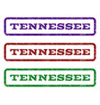 tennessee watermark stamp vector image