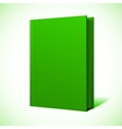 Blank book cover vector image