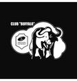 Buffalo Logo emblem vector image