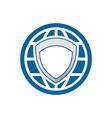 Global Protection Logo 380x400 vector image